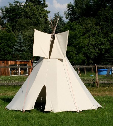 2 50m kinder tipi indianertipi indianerzelt wigwam zelt. Black Bedroom Furniture Sets. Home Design Ideas