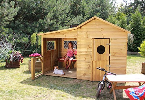 baumotte spielhaus holz kinderspielhaus heidi spielhaus. Black Bedroom Furniture Sets. Home Design Ideas