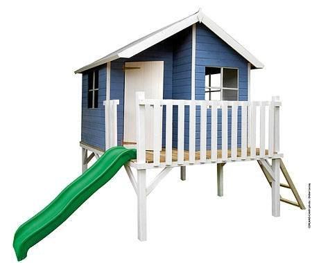 baumotte spielhaus holz kinderspielhaus max mit. Black Bedroom Furniture Sets. Home Design Ideas