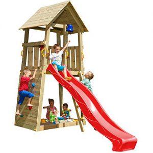 Spielhaus Kinder mit Rutsche