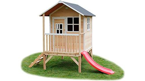 exit toys loft 300 spielhaus mit rutsche spielhaus. Black Bedroom Furniture Sets. Home Design Ideas