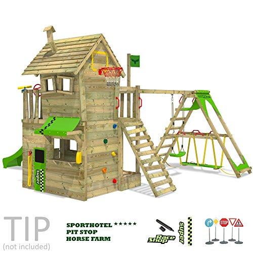 FATMOOSE Kletterturm RebelRacer Spielturm Baumhaus