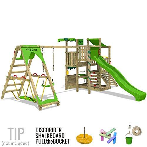 fatmoose spielturm bananabeach kletterturm baumhaus mit. Black Bedroom Furniture Sets. Home Design Ideas