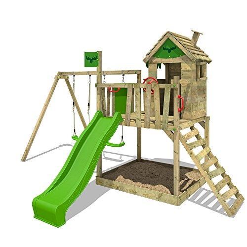 Hervorragend FATMOOSE Stelzenhaus RockyRanch Roll XXL Spielturm mit QX29