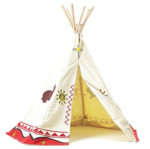 garden games 3025 kinder wigwam spiel zelt tipi traditionelle wild west cowboys und. Black Bedroom Furniture Sets. Home Design Ideas