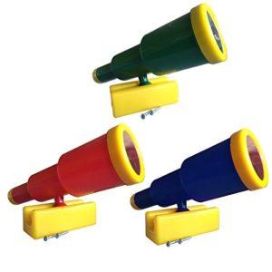 Groes-Teleskop-Fernrohr-fr-Spieltrme-verschiedene-Farben-0-0