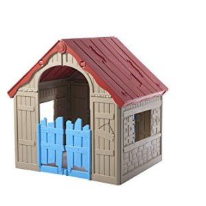 kinderspielhaus kunststoff spielhaus. Black Bedroom Furniture Sets. Home Design Ideas