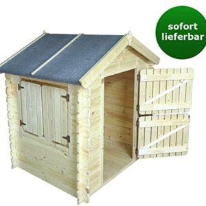 umweltfreundliches spielhaus f r kinder aus fichtenholz. Black Bedroom Furniture Sets. Home Design Ideas