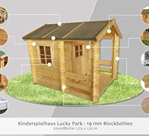 Kinderspielhaus-175-x-130-Meter-aus-19mm-Blockbohlen-Kinder-Gartenhaus-Kinderspielhaus-Kinderhaus-Spielhaus-Holz-inkl-Dachpappe-und-Fuboden-0-0