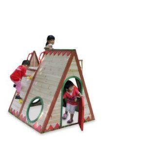 Kinderspielhaus-TINI-Spielhaus-aus-Holz-mit-Rutsche-0-0