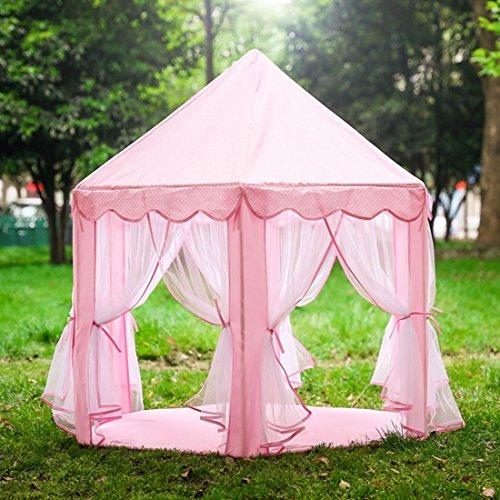 qianle kinder spielzelt prinzess spielhaus 3 farben spielhaus. Black Bedroom Furniture Sets. Home Design Ideas