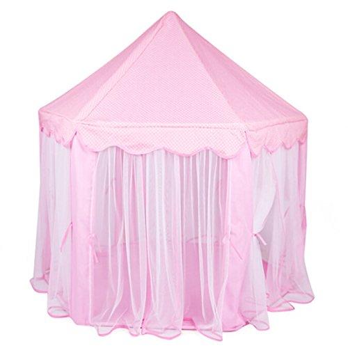 Qianle Kinder Spielzelt Prinzess Spielhaus 3 Farben - Spielhaus ...