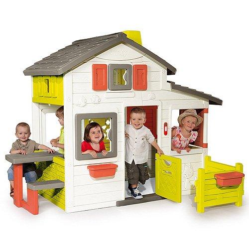 smoby 310209 friends haus spielhaus. Black Bedroom Furniture Sets. Home Design Ideas