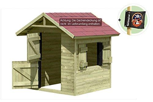 spielhaus emily aus holz gartenhaus f r kinder von gartenpirat spielhaus. Black Bedroom Furniture Sets. Home Design Ideas