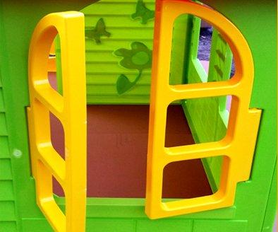 spielhaus kinderspielhaus mit terrasse xxl f r drinnen und drau en gartenhaus kinderhaus kinder. Black Bedroom Furniture Sets. Home Design Ideas