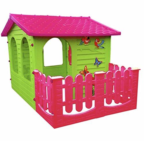 Sehr Spielhaus Kinderspielhaus mit Terrasse XXL für drinnen und Draußen HL14
