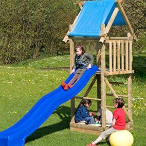 Spielturm-mit-Rutsche-Sandkasten-deinSpielgeraet-Alex-TV-geprfter-Kletterturm-fr-Kinder-aus-imprgniertem-Holz-ideal-fr-den-Garten-0-0