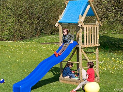 Kinder Klettergerüst Holz : Spielturm mit rutsche & sandkasten deinspielgeraet alex tÜv