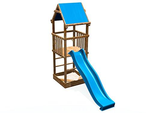 rutsche fur kinderzimmer, spielturm mit rutsche & sandkasten - deinspielgeraet alex - tÜv, Design ideen
