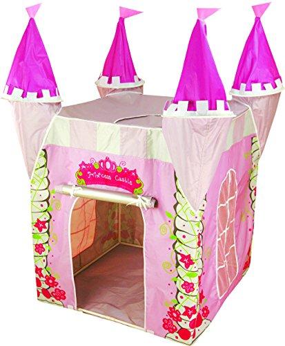 Spielzelt Prinzessin Burg Schloss, mit 100% UV proteccion, rosa Haus für  die Mädchen, spielen hier regt die Phantasie und Bildung. Für innen und ...