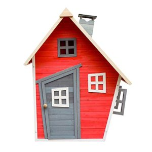 Umweltfreundliches-Spielhaus-fr-Kinder-aus-Fichtenholz-Kinderspielhaus-Holzhaus-Garten-0-0