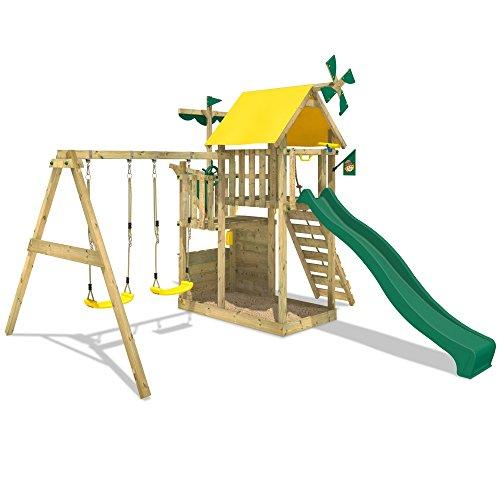 wickey kletterturm smart sail spielturm kletterger st mit verschiedenen podesth hen kletterwand. Black Bedroom Furniture Sets. Home Design Ideas