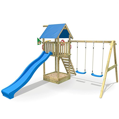 Favorit WICKEY Spielturm Smart Empire Kletterturm Garten mit Rutsche BO08