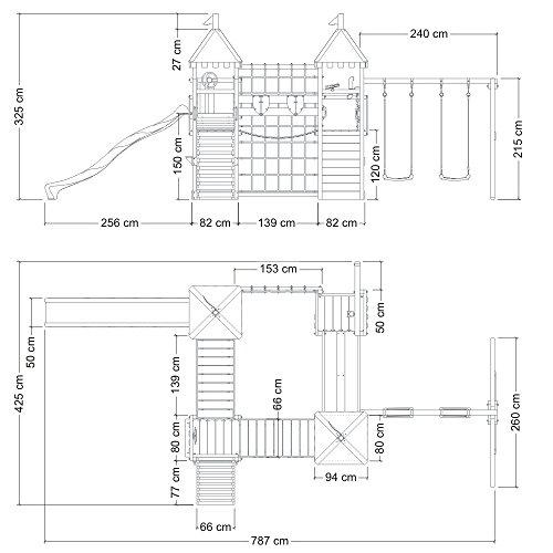 wickey spielturm smart king spielplatz holz kletterturm. Black Bedroom Furniture Sets. Home Design Ideas